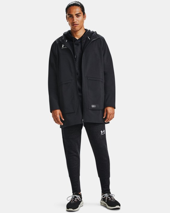 Men's UA Accelerate Terrace Jacket, Black, pdpMainDesktop image number 1