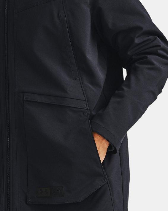 Men's UA Accelerate Terrace Jacket, Black, pdpMainDesktop image number 6