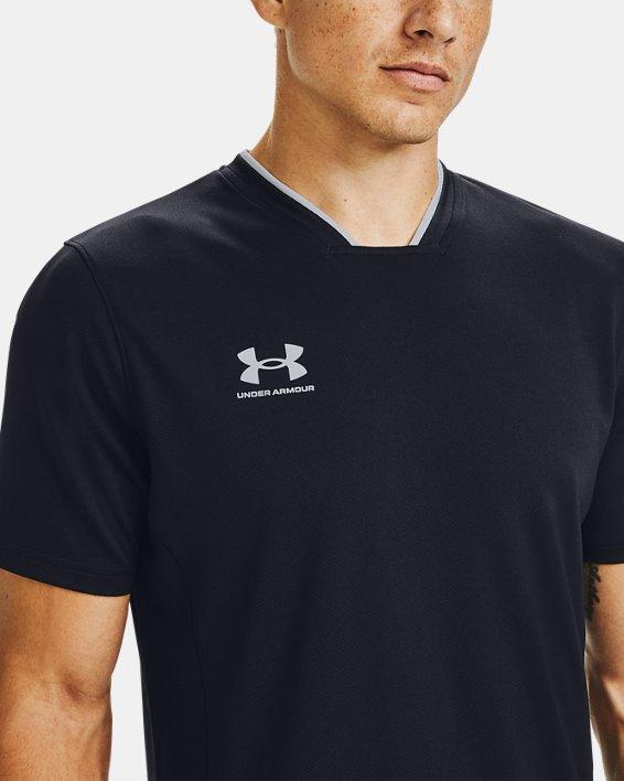 Men's UA Accelerate Premier T-Shirt, Black, pdpMainDesktop image number 6