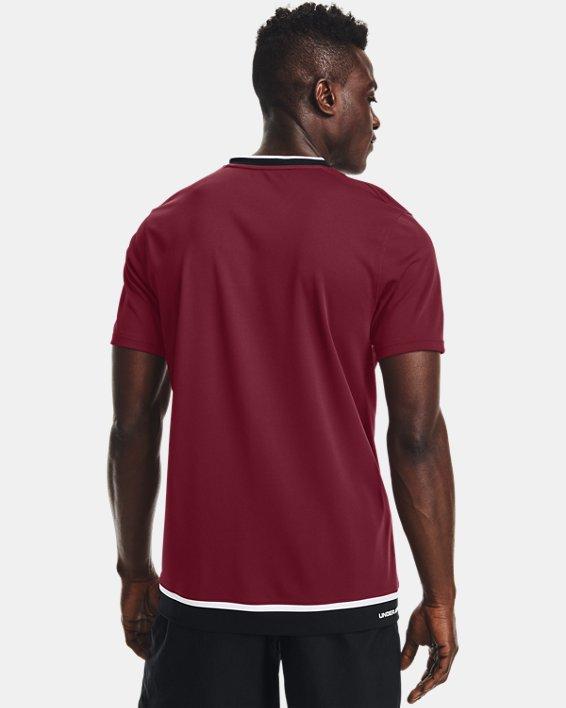 Men's UA Accelerate Premier T-Shirt, Red, pdpMainDesktop image number 2