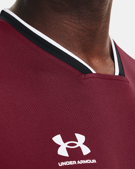 Men's UA Accelerate Premier T-Shirt, Red, pdpMainDesktop image number 5