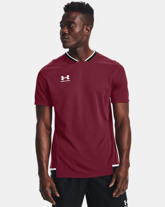 Men's UA Accelerate Premier T-Shirt, Red, pdpMainDesktop image number 1