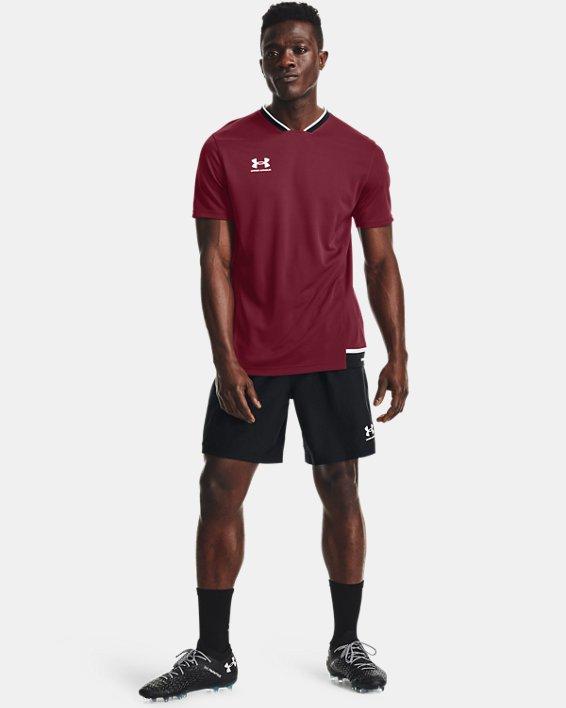 Men's UA Accelerate Premier T-Shirt, Red, pdpMainDesktop image number 0