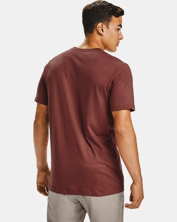 Men's UA Pocket T-Shirt, Red, pdpMainDesktop image number 2