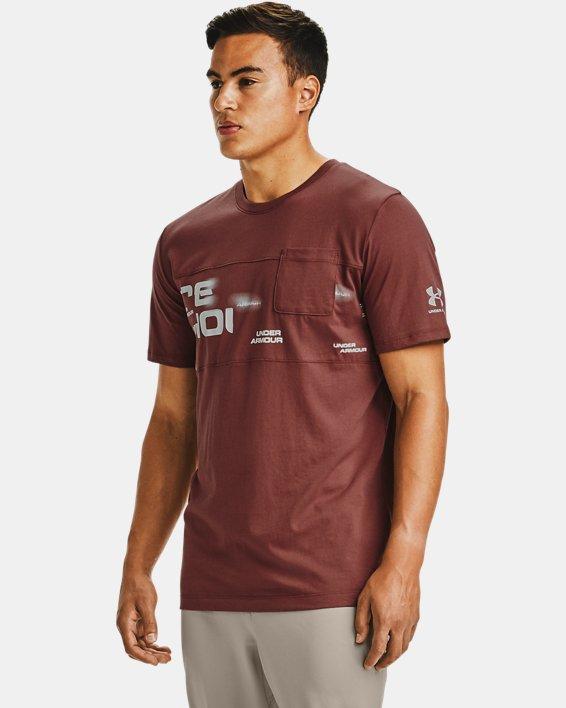 Men's UA Pocket T-Shirt, Red, pdpMainDesktop image number 0