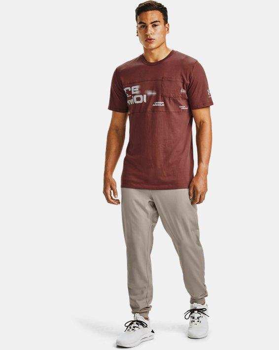 Men's UA Pocket T-Shirt, Red, pdpMainDesktop image number 1