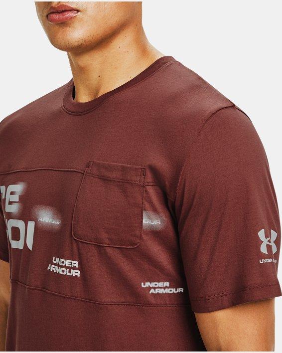 Men's UA Pocket T-Shirt, Red, pdpMainDesktop image number 3