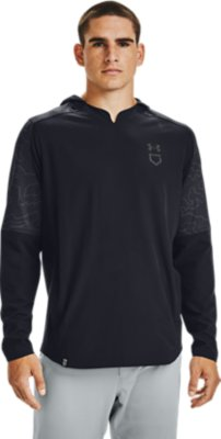 Under Armour Mens Cage Ripthread Hooded Jacket