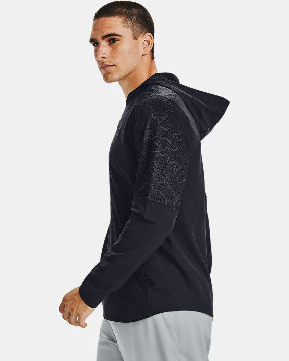 Men's UA Cage Ripthread Jacket, Black, pdpMainDesktop image number 3