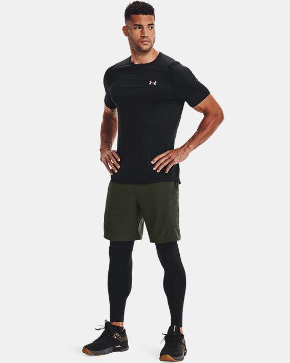 Men's UA RUSH™ HeatGear® 2.0 Short Sleeve, Black, pdpMainDesktop image number 1