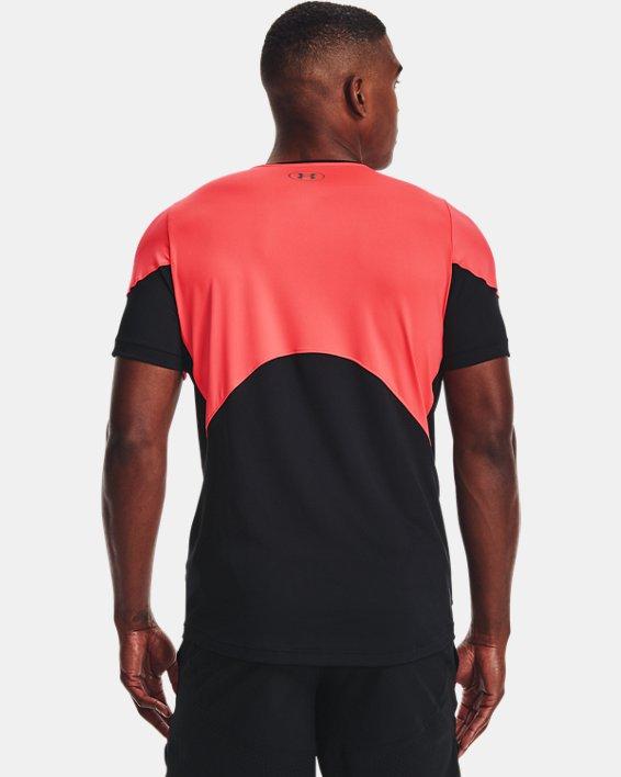 Men's UA RUSH™ HeatGear® 2.0 Short Sleeve, Red, pdpMainDesktop image number 2