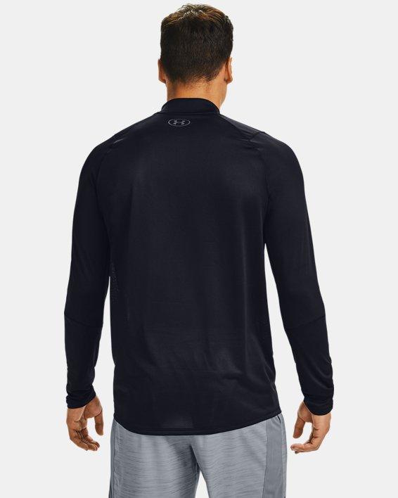 Haut UA MK-1 Graphic ¼ Zip pour homme, Black, pdpMainDesktop image number 2