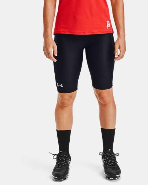 Women's UA Softball Slider Shorts