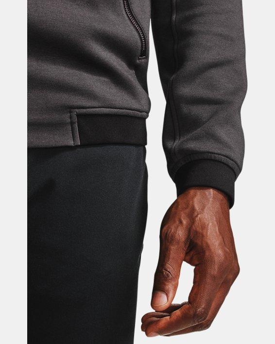 Men's UA Range Unlimited Storm Full Zip Bomber Jacket, Gray, pdpMainDesktop image number 9