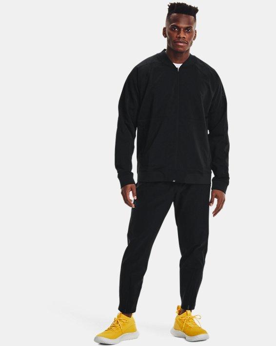 Men's Curry UNDRTD Warmup Jacket, Black, pdpMainDesktop image number 0