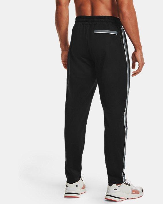 Men's UA RUSH™ Knit Track Pants, Black, pdpMainDesktop image number 0