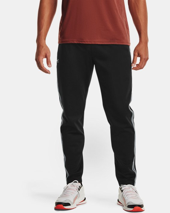 Men's UA RUSH™ Knit Track Pants, Black, pdpMainDesktop image number 1