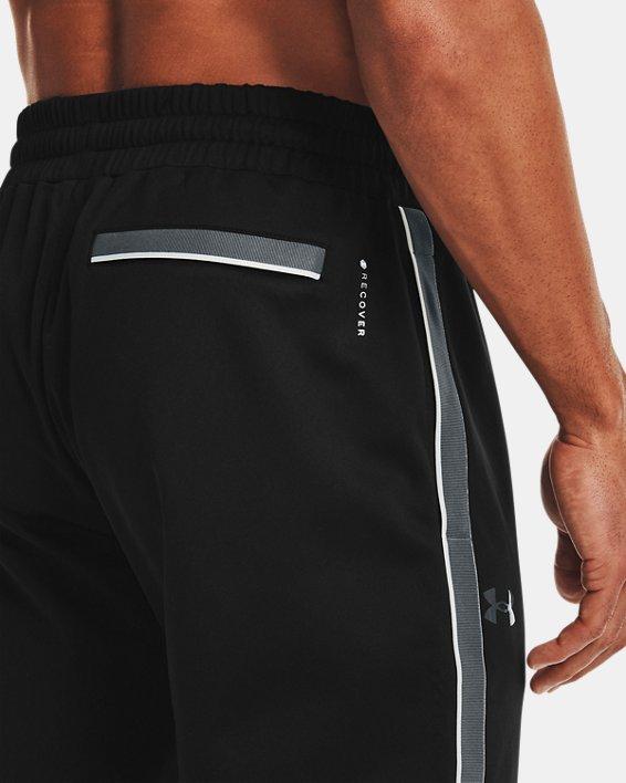 Men's UA RUSH™ Knit Track Pants, Black, pdpMainDesktop image number 3