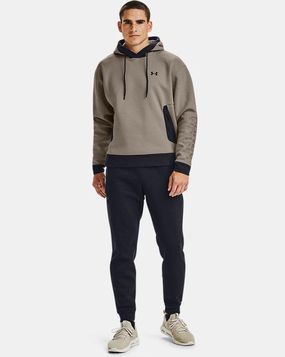 Men's UA RECOVER™ Fleece Pants, Black, pdpMainDesktop image number 1
