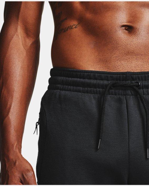 Men's UA RECOVER™ Fleece Pants, Black, pdpMainDesktop image number 9
