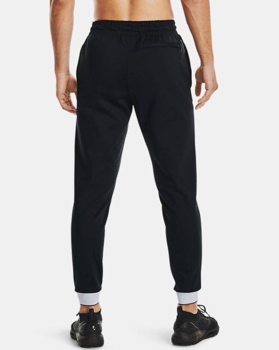 Men's UA RUSH™ Pants, Black, pdpMainDesktop image number 2