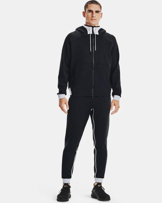 Men's UA RUSH™ Pants, Black, pdpMainDesktop image number 0