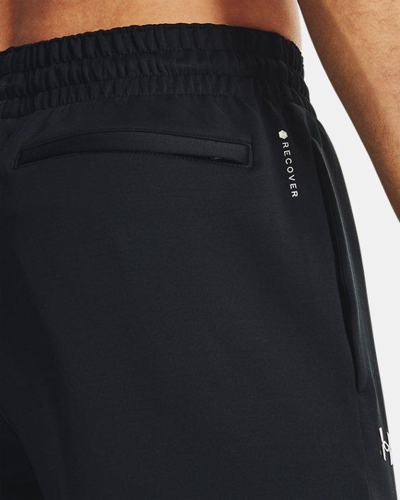 Men's UA RUSH™ Pants, Black, pdpMainDesktop image number 3