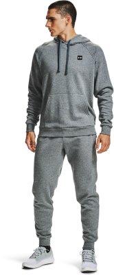 NWT Under Armour Youth Boys Fleece Joggers Medium Black Gray