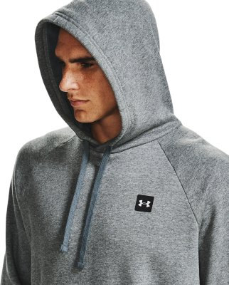 Under Armour UA Rival Fleece Sweat à capuche vert Overhead Sports Gym Sweat