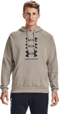 Under Armour Rival Fleece Logo Kurzarm Hoodie