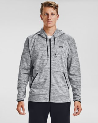PICK COLOR /& SIZE NEW MEN'S UNDER ARMOUR HEAT GEAR FULL ZIP LONG SLEEVE HOODIE