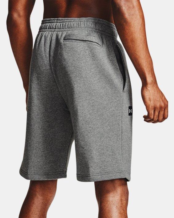 Men's UA Rival Fleece Shorts, Gray, pdpMainDesktop image number 2