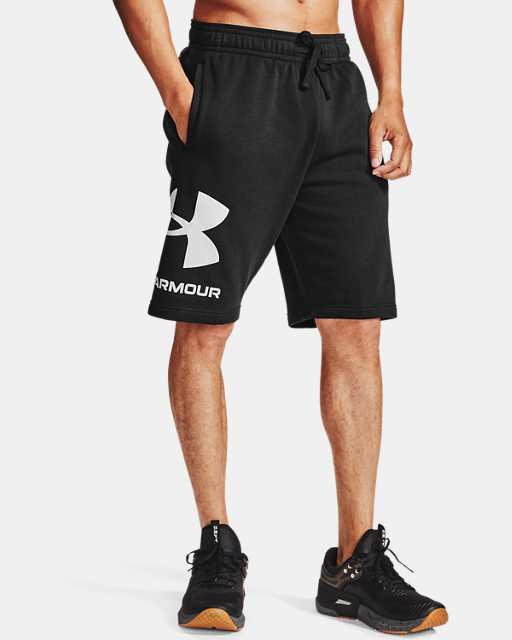 Men's UA Rival Fleece Big Logo Shorts