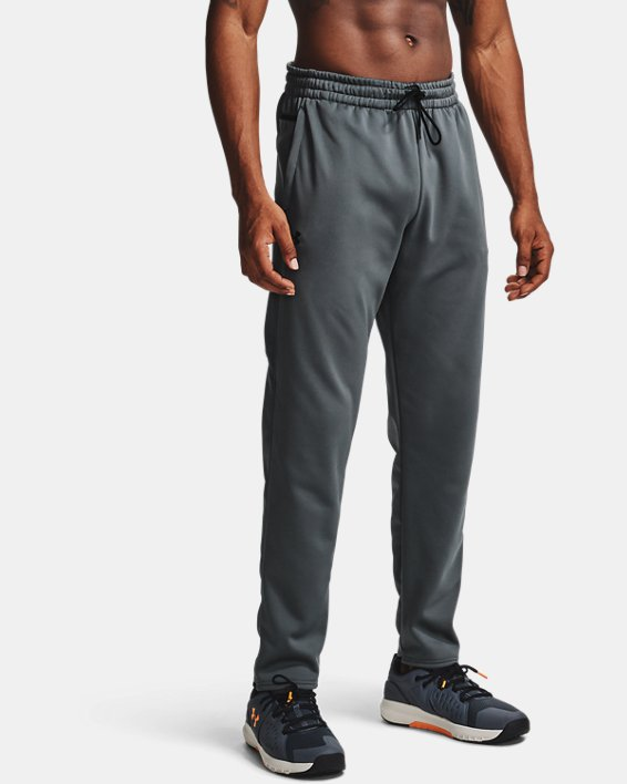 Men's Armour Fleece® Pants, Gray, pdpMainDesktop image number 0