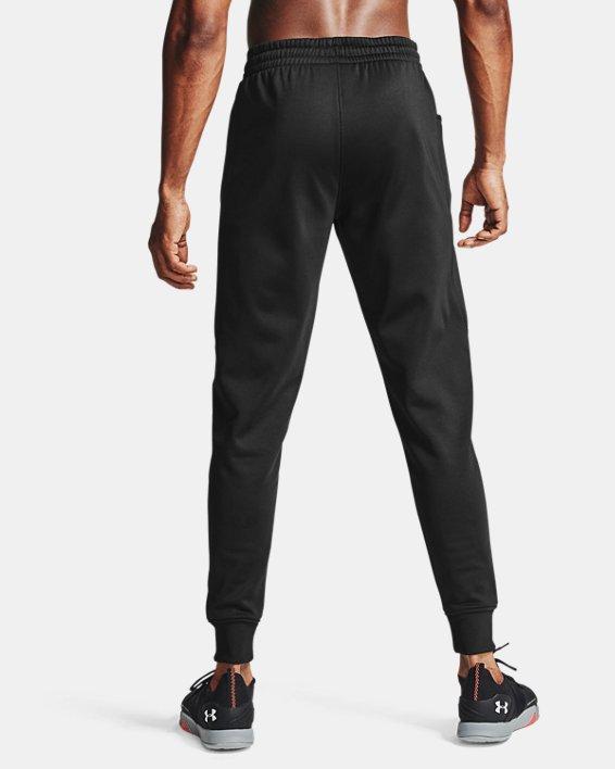 Men's Armour Fleece® Joggers, Black, pdpMainDesktop image number 2