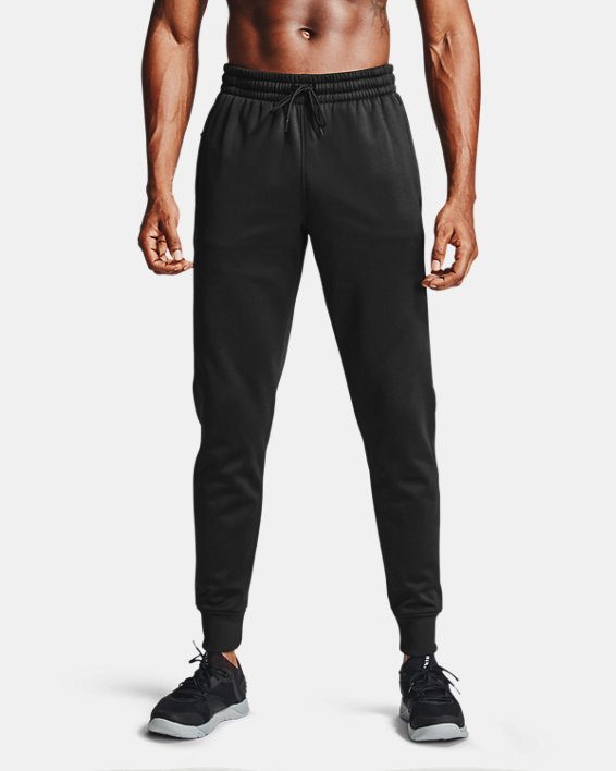 Men's Armour Fleece® Joggers, Black, pdpMainDesktop image number 1