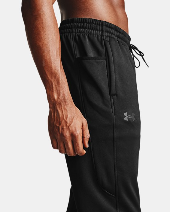 Men's Armour Fleece® Joggers, Black, pdpMainDesktop image number 3
