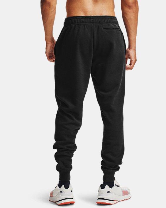 Pantalon de jogging UA Rival Fleece pour homme, Black, pdpMainDesktop image number 1