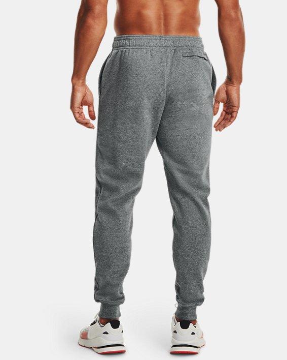 Pantalon de jogging UA Rival Fleece pour homme, Gray, pdpMainDesktop image number 1