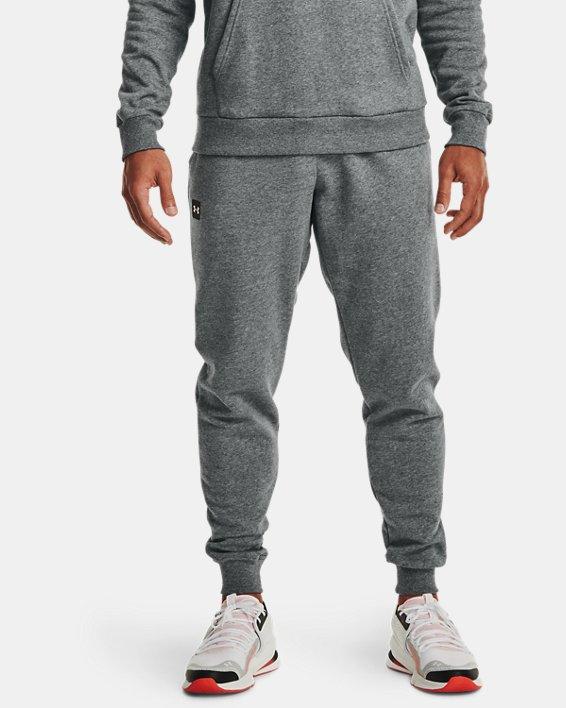 Pantalon de jogging UA Rival Fleece pour homme, Gray, pdpMainDesktop image number 0
