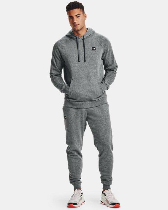 Pantalon de jogging UA Rival Fleece pour homme, Gray, pdpMainDesktop image number 2