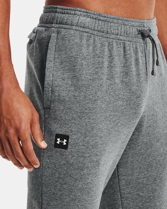 Pantalon de jogging UA Rival Fleece pour homme, Gray, pdpMainDesktop image number 3