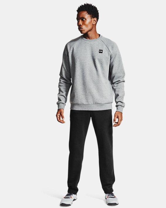 Men's UA Rival Fleece Pants, Black, pdpMainDesktop image number 0