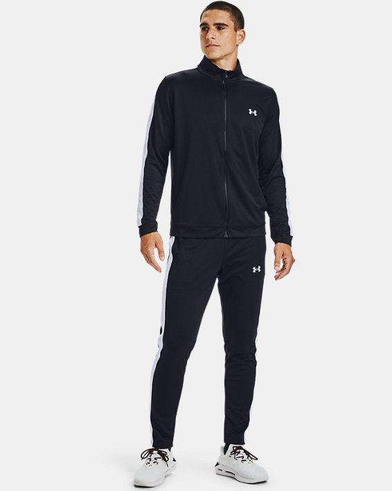 Men's UA EMEA Track Suit, Black, pdpMainDesktop image number 0