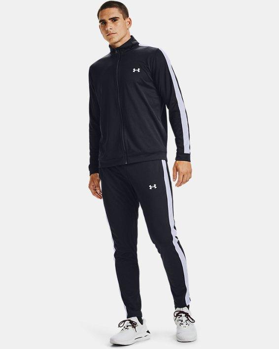 Men's UA EMEA Track Suit, Black, pdpMainDesktop image number 3