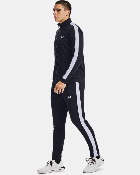 Men's UA EMEA Track Suit, Black, pdpMainDesktop image number 2