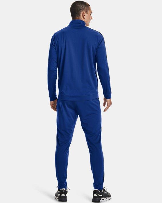 Men's UA Knit Track Suit, Blue, pdpMainDesktop image number 1