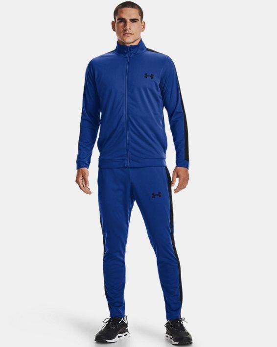 Men's UA Knit Track Suit, Blue, pdpMainDesktop image number 0