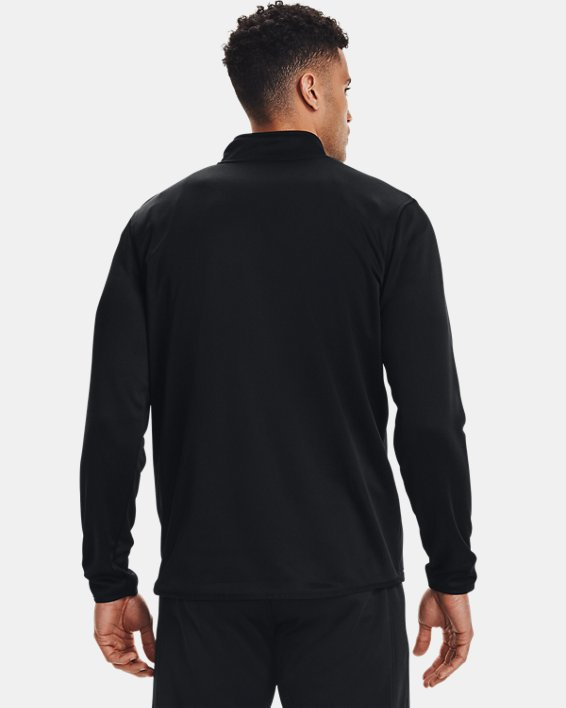 Men's Armour Fleece® ½ Zip, Black, pdpMainDesktop image number 2
