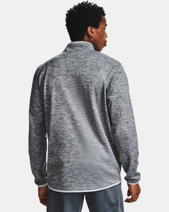 Men's Armour Fleece® ½ Zip, Gray, pdpMainDesktop image number 1